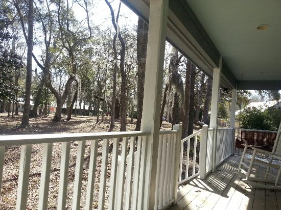 Palm Key: View from back deck