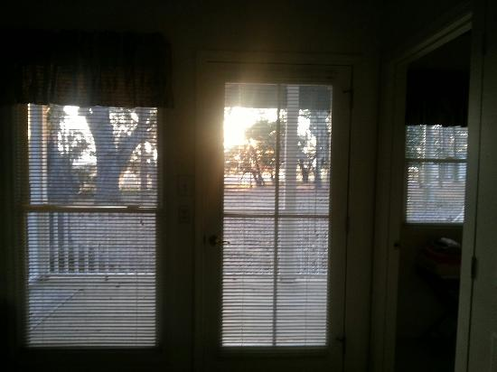 Palm Key: View from bedroom of marsh