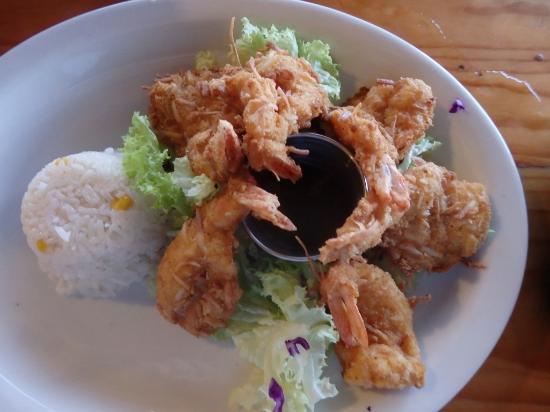 Paprika Mexican & Caribbean Cuisine: Succulent coconut shrimp