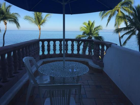 Playa Conchas Chinas Hotel: Private balcony