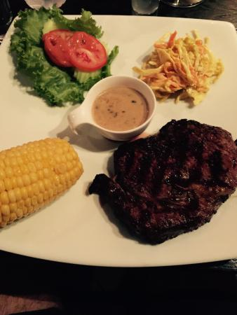Texas Steakhouse: Rib eye