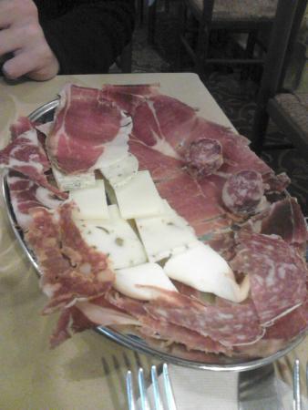 Ristorante La Piazzetta: antipasto
