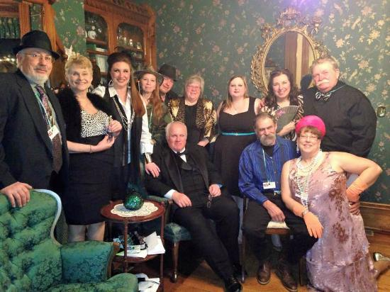 Squiers Manor B&B: The Cast of the Murder Mystery at Squires Manor