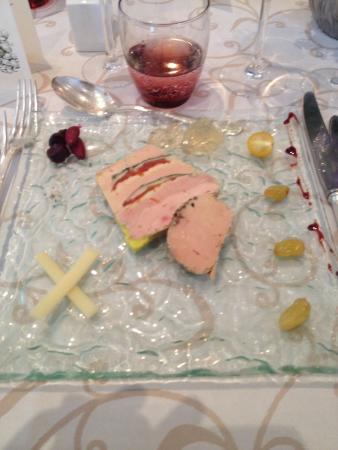 HOSTELLERIE DU MONT-AIME : Fois gras au beaufort