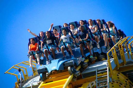 Skyrush Roller Coaster Picture Of Hersheypark Hershey Tripadvisor