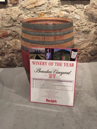 Beaulieu Vineyard: Good wine!