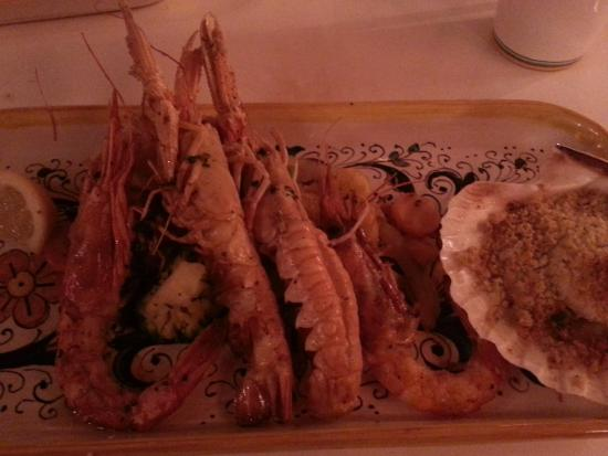 Grem Le Club Restaurant : grigliata da Euro 34