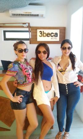 3beca Hotel: Bellesas tapatias