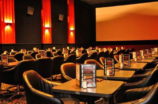 Falmouth Cinema Pub: inside the cinema