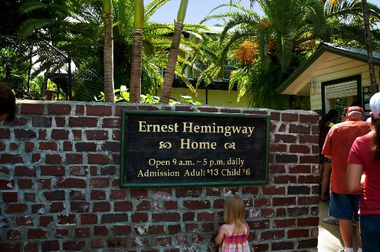 Key West Picture Of The Ernest Hemingway Home And Museum