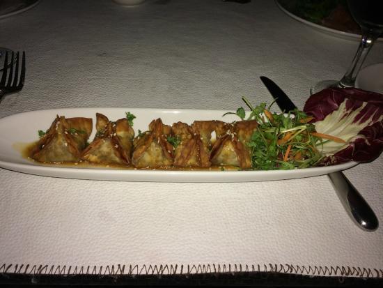 Villa Deveena: Crispy Duck Ravioli with Ginger and Lime