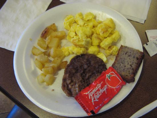Comfort Inn & Suites: Some breakfast items