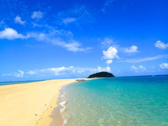 Hayman Island, Australië: island 2 miles off shore