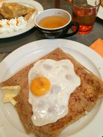 Le coin des Artistes Creperie: Galette of the day