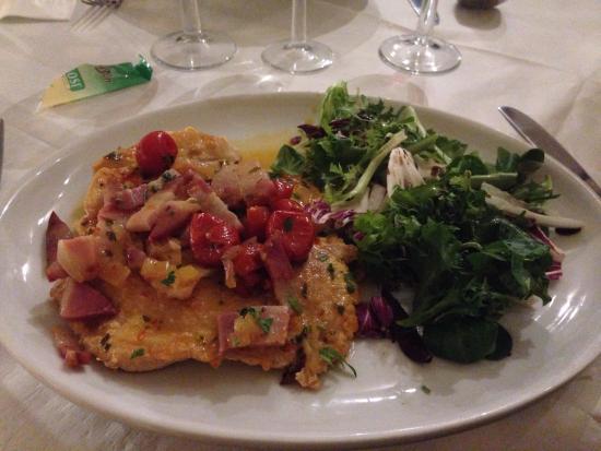 Il Vesuvio Restaurant: The chicken dish to die for