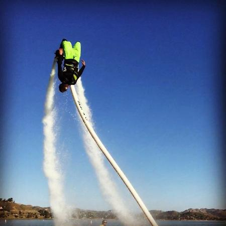 Lake Elsinore, CA: Flipping