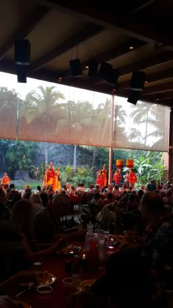 Alii Luau At The Polynesian Cultural Center: The stage show