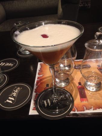 Enniskillen, UK: French martini cocktail