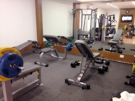 Hotel Sandy's Tower : Gym