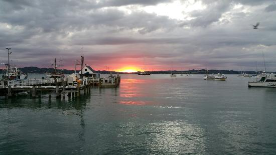 The Wharf - Restaurant & Bar: Stunning sunset