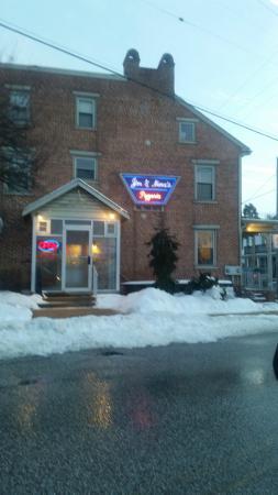 York New Salem, Pennsylvanie : Front Door