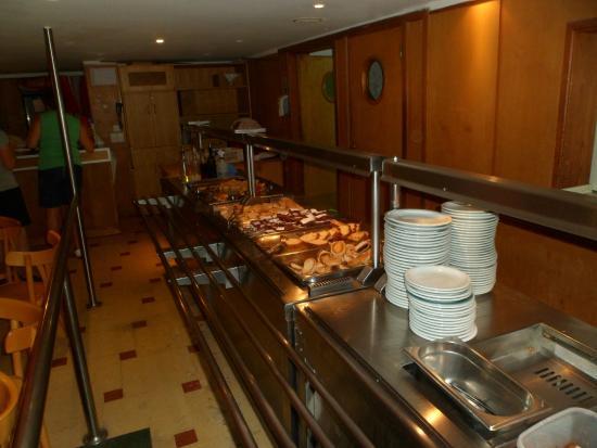 Hotel Aguas Del Sur : Provechoooo!