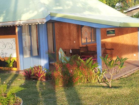 Linareva Moorea Beach Resort: bungalow plage