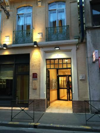 Hotel Albert 1er: Centrally located