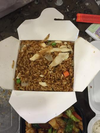 Fern Park, فلوريدا: Chicken Fried Rice