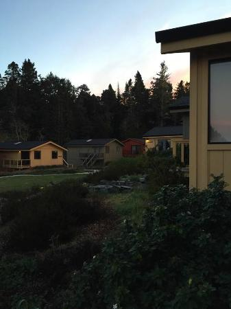 Cottages at Little River Cove: View from Elk Cottage early morning
