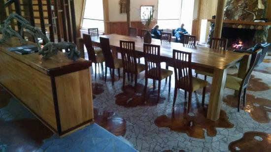 mesa de comedor para 14 personas