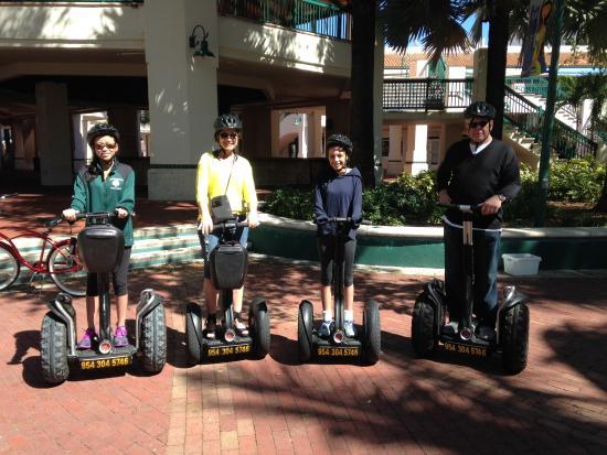 """Ultimate Florida Tours: """"Segwaying"""""""