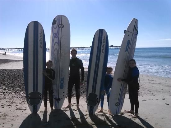 San Clemente, CA: surfing lessons