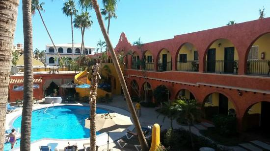 Hotel Mar de Cortez: View from our room