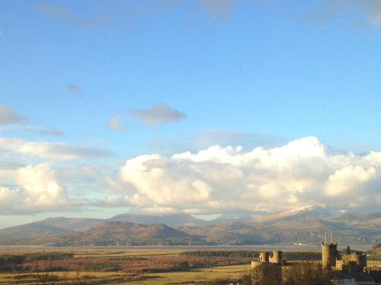 Pen Y Garth: fantastic view from our room