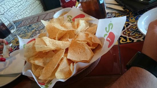 Chili's: Naked nachos