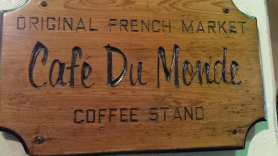 Cafe Du Monde Coffee Stand