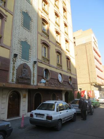 Jahan Hotel: Entrada