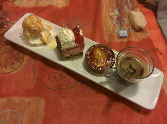 Hotel restaurant du Lac : Le café gourmand