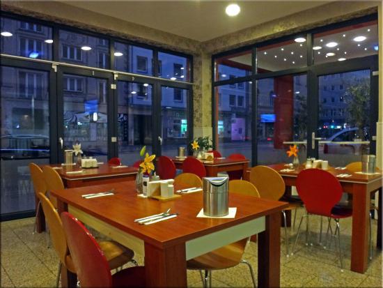 Atlas City Hotel: Ранний завтрак в отеле