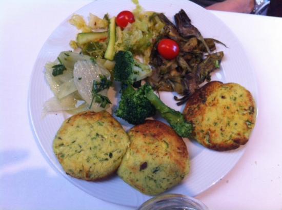 Tagiura: Crocchette di zucchine e verdure miste