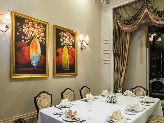 Rixos Almaty: VIP room in Brasserie restaurant