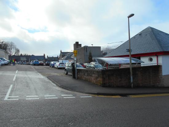 Fort road car park