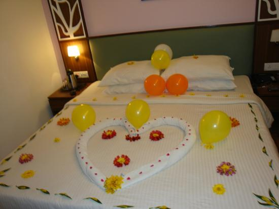 Ooty - Elk Hill, A Sterling Holidays Resort: Everyday Surprise from housekeeping team