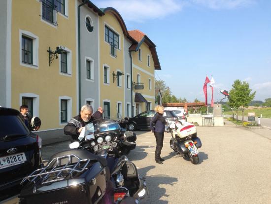 Euratsfeld, Austria: Bikerausfahrt