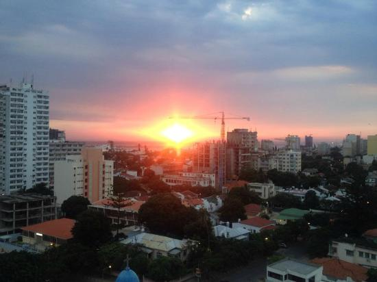 Hotel Avenida: Sunset view from the roof