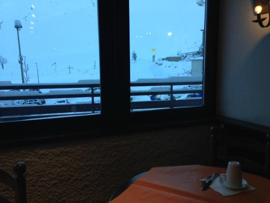 Hotel Le Taoulet: Breakfast view