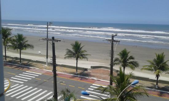 Mongaguá, SP: orla praia são paulo mongagua