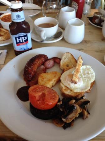 Garniche at the Puesdown: The wonderful breakfast served at The Garniche....