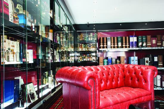 Hard To Find Whisky: Comfy Leather Sofa For You To Relax With A Dram